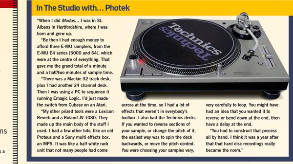 Photek's Sony HR-MP5 Stereo Multi Effects Processor