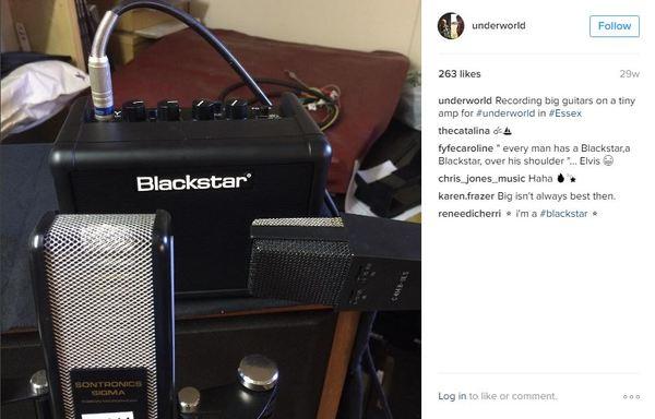 Karl Hyde's Blackstar Fly 3W Guitar Combo Amp