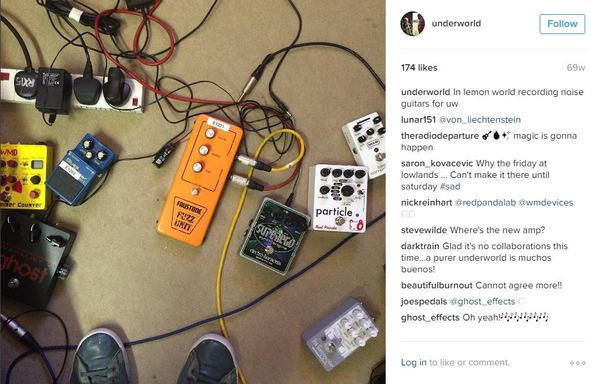 Karl Hyde's Red Panda Lab Particle Granular Delay/Pitch Shifting Pedal