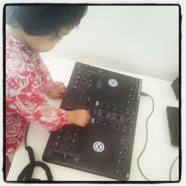 DJ Nucleya's Native Instruments Traktor Kontrol S2