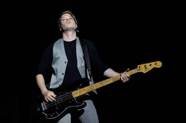 David Desrosiers's Squier Precision Bass Matt Freeman