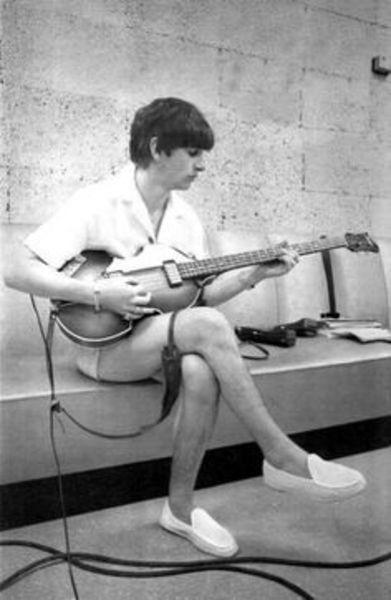 Ringo Starr's Höfner 500/1 Bass