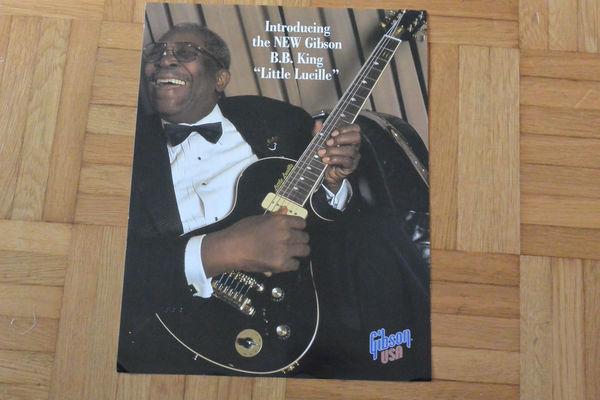B.B. King's Gibson Little Lucille B.B. King