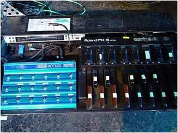 Chris Wolstenholme's Roland PK5 Dynamic MIDI Pedal   Equipboard®