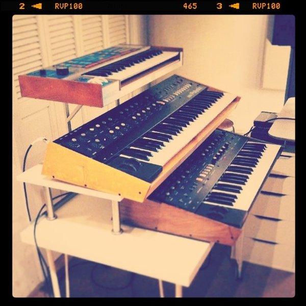 Tycho's Korg PolySix Synthesizer
