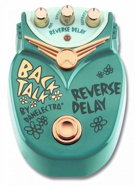 Steve Cradock's Danelectro Back Talk Reverse Delay