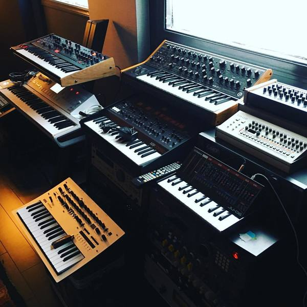 Kenny Larkin's Korg Minilogue Analog Synthesizer