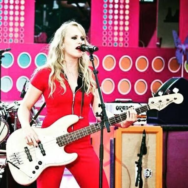 Sara Frendin's Fender Jazz Bass