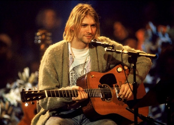 Kurt Cobain's Martin D-18E Acoustic-Electric Guitar