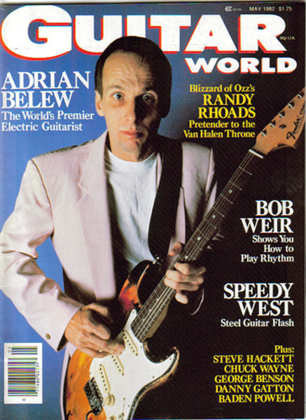 Adrian Belew's Fender Stratocaster Electric Guitar