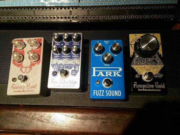Reba Meyers's EarthQuaker Devices Acapulco Gold Distortion