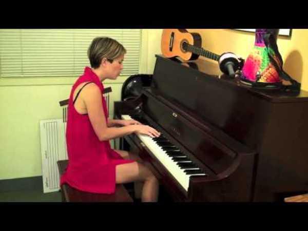 Missy Higgins's Yamaha P-22 Upright Piano