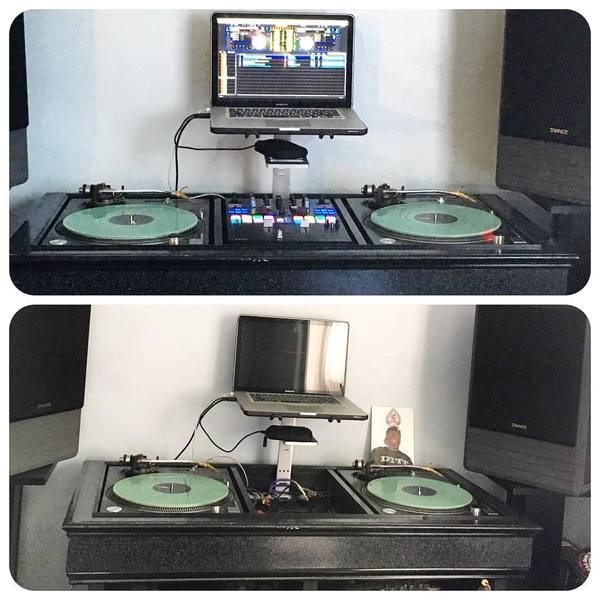Lord FInesse's Pioneer DJM-S9 Serato Mixer