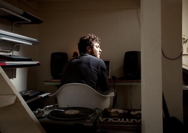 Nicolas Jaar's Genelec 8040A Studio Monitor Speaker