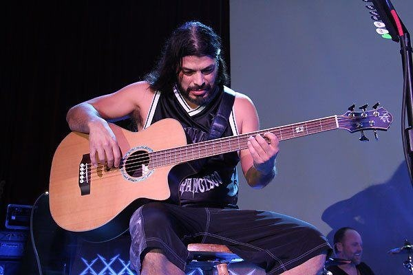 Robert Trujillo's Michael Kelly Dragonfly 4 Fretted Acoustic/Electric Bass Guitar