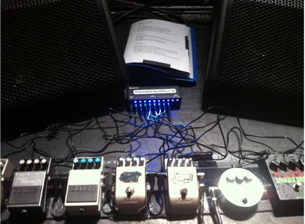 Peter Hook's Boss RV-2 Digital Reverb