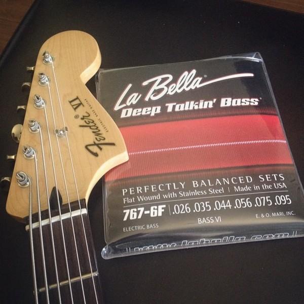 Sean Hurley's Fender Bass VI