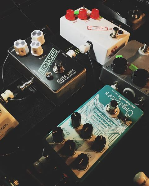 Jacob Tilley's Greer Lightspeed Organic Overdrive