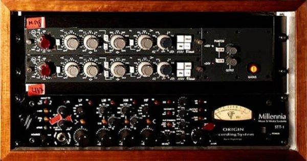 Richard Zven Kruspe's Millennia NSEQ-2 Stereo Parametric Equalizer