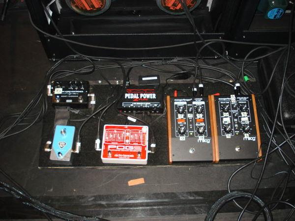 Alain Johannes's Electro-Harmonix POG2 Polyphonic Octave Generator