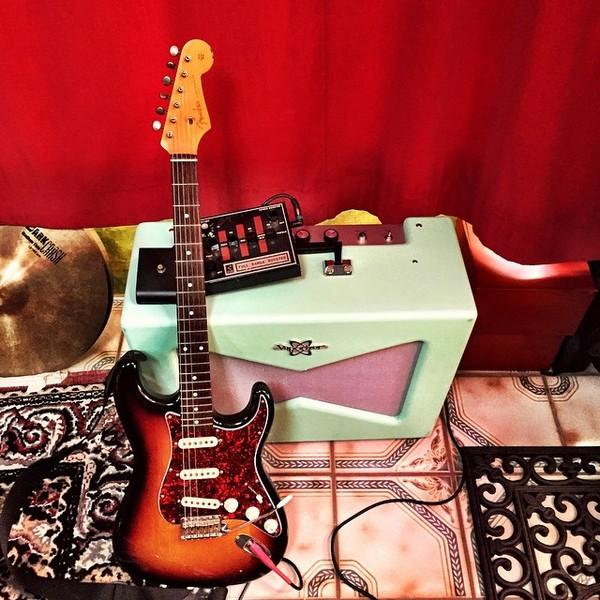 Alain Johannes's Fender Deluxe Players Strat