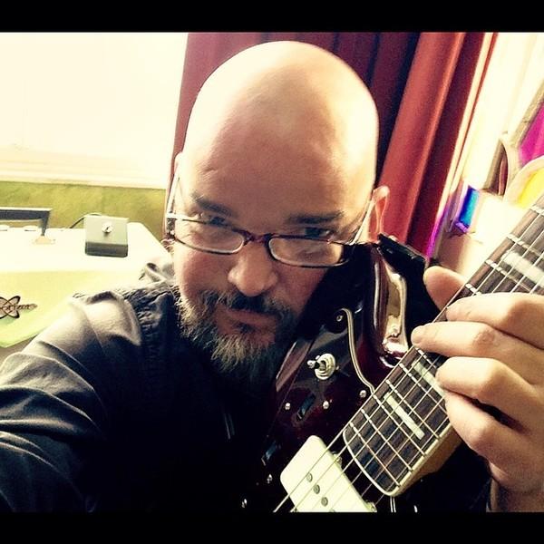 Alain Johannes's Fender Jazzmaster Troy Van Leeuwen Signature