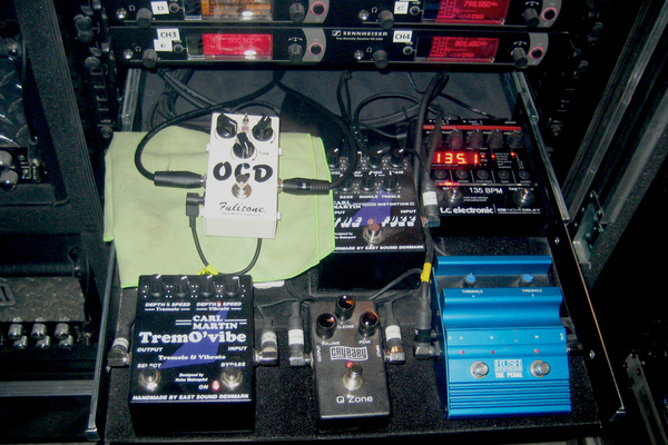 Richard Zven Kruspe's Dunlop Custom Shop CSP030 Cry Baby QZ-1 Q-Zone
