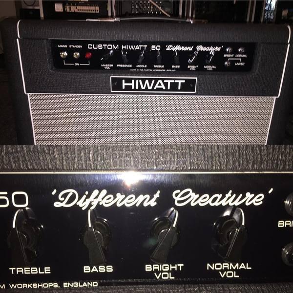 Kieran Shudall's Hiwatt Custom 50W 2X12 Tube Guitar Combo Amp