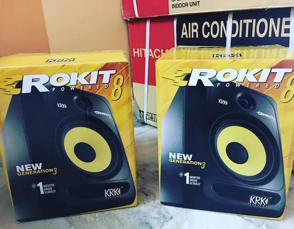 ZXR Productions's KRK ROKIT 8 G3 Studio Monitor