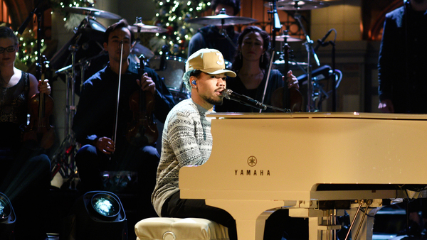 Chance The Rapper Yamaha Grand Piano