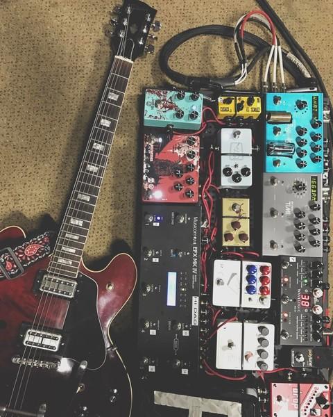 Michael John Scheuchzer's Gibson ES-335 Electric Guitar