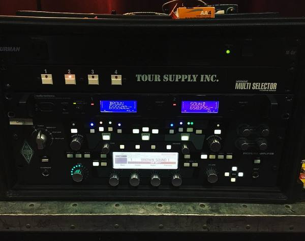 Dave Baksh's Kemper Profiler Rack Guitar Amp System