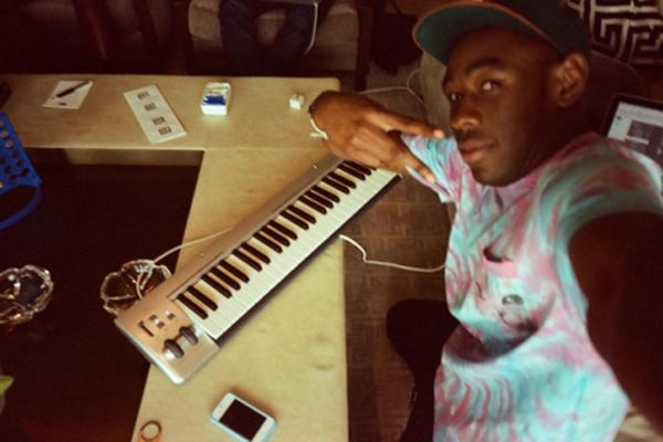 Tyler, The Creator's M-Audio Keystation 49es MIDI Controller