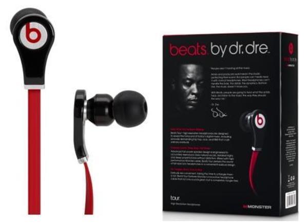 Dr. Dre's Beats by Dre New Beats Tour In-Ear Headphones