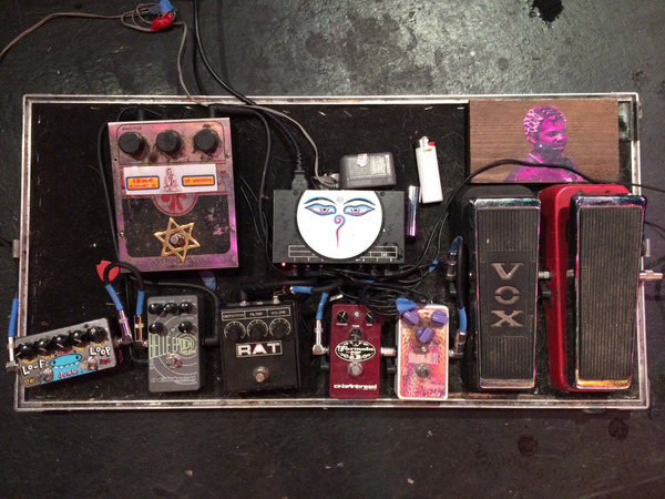 Jason Simon's ZVex Hand-Painted LO-FI Loop Junky Guitar Effects Pedal