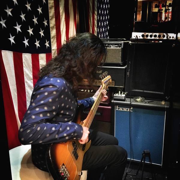 Geddy Lee's Fender American Vintage '58 Precision Bass