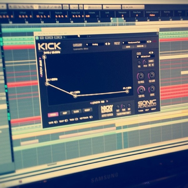 Roul and Doors's Sonic Academy Nicky Romero KICK Drum Synthesiser Plugin