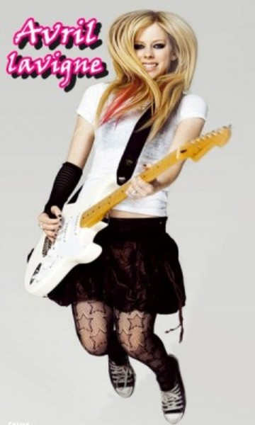 Avril Lavigne's Fender Stratocaster Electric Guitar