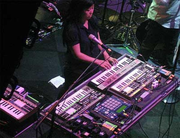 Nancy Whang's Korg MicroKORG Synthesizer/Vocoder