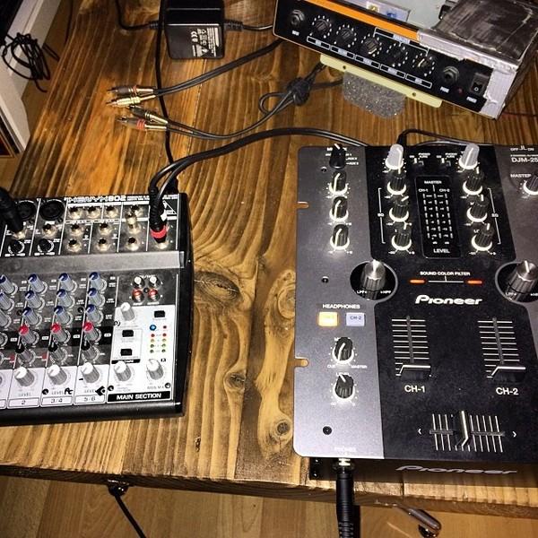 Posij's Pioneer DJM-250 DJ Mixer