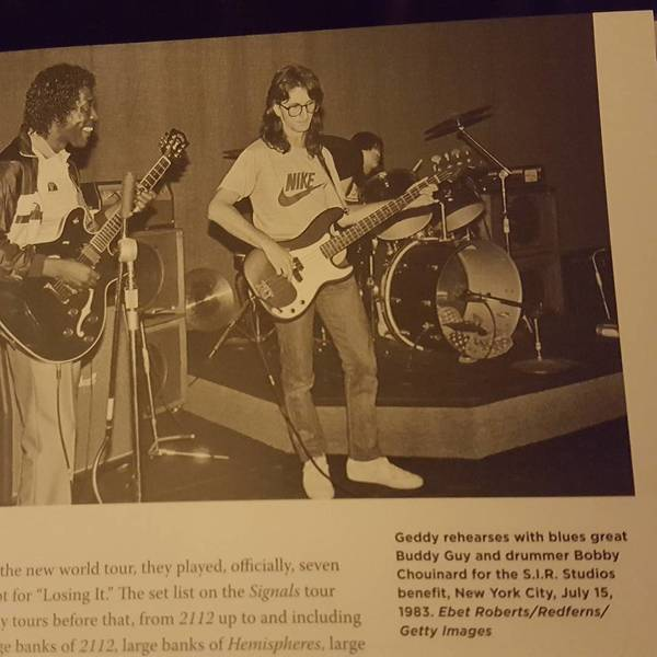 Geddy Lee's Fender Precision Bass