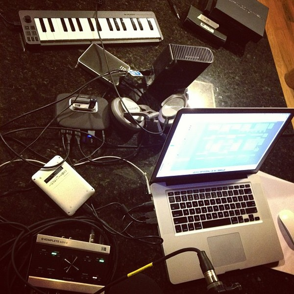 Owl City's M-Audio Keystation Mini 32 Ultra-Portable USB MIDI Keyboard Controller