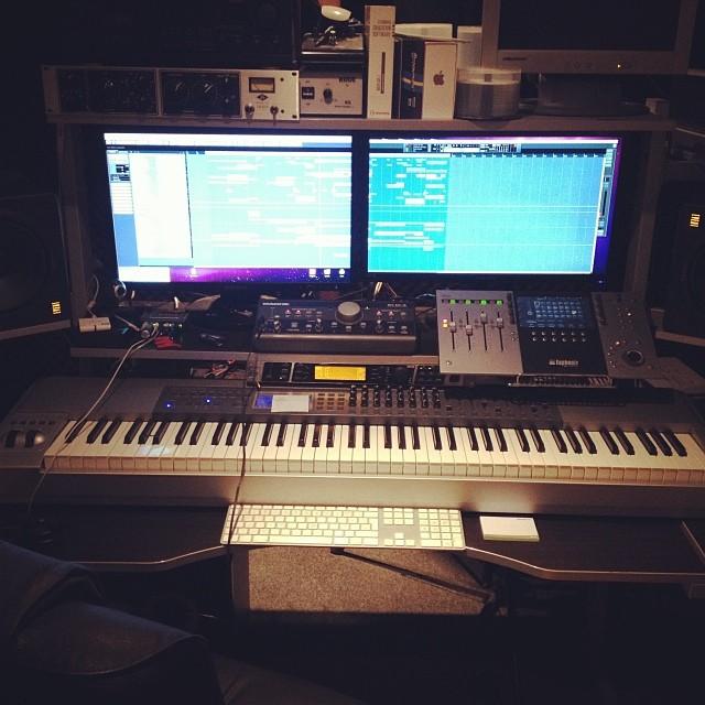 eddie thoneick 39 s m audio keystation pro 88 controller keyboard equipboard. Black Bedroom Furniture Sets. Home Design Ideas