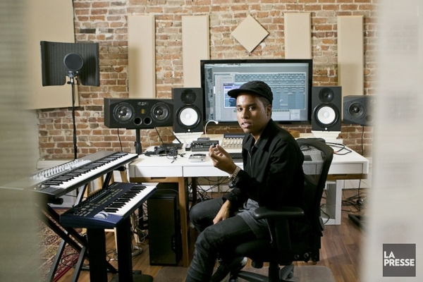Lunice's Yamaha HS8 Powered Studio Monitor