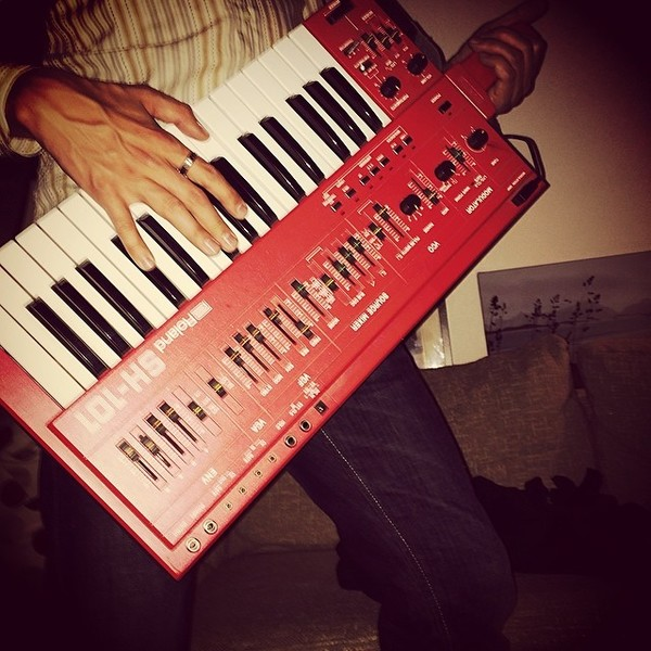 Pegboard Nerds's Roland SH-101 Synthesizer