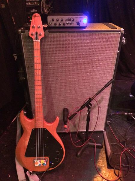 Nathan Latona's Aguilar Tone Hammer 500 Head
