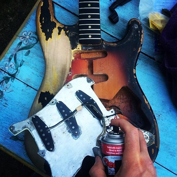 Philip Sayce's Fender Stratocaster              (Duplicate)