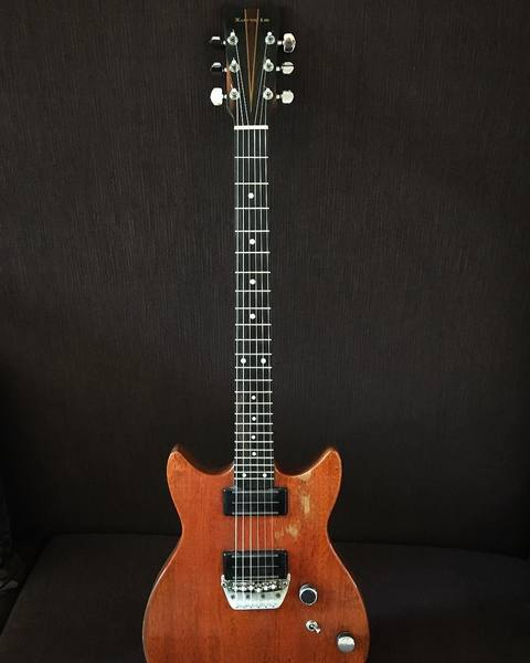 John Shanks's Bill Lewis 24-fret Guitar