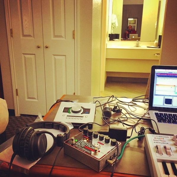 David Bazan's Electro-Harmonix Deluxe Memory Boy