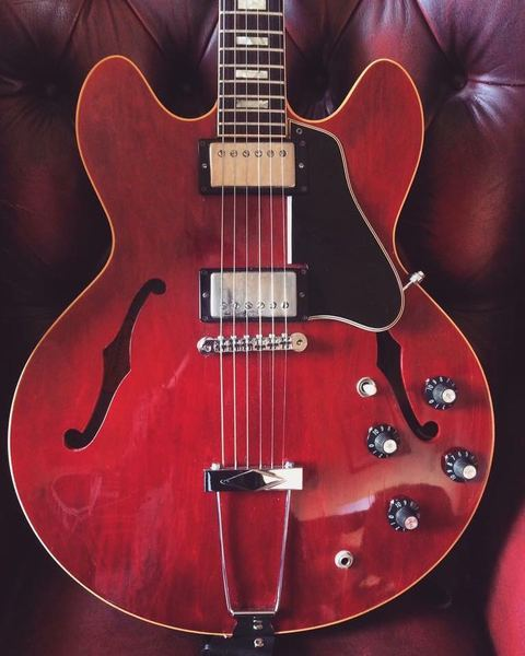 Chris Buck's Gibson ES-335 Electric Guitar